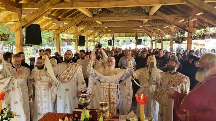 Торжествено прослављен празник Св. Зосима и Јакова у Манастиру Туману