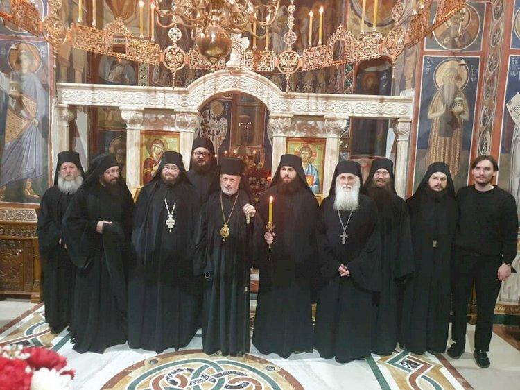 Монашење у манастиру Тумане